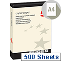 5 Star A4 Cream 80gsm Multifunctional Paper Ream of 500 Sheets