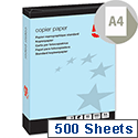 5 Star A4 Blue 80gsm Multifunctional Paper Ream of 500 Sheets