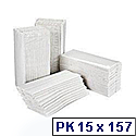 2Work White 2 Ply C-Fold Paper Hand Towels 310x225mm (Pack of 2355) HT3000