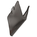 A2 Portfolio Case Black Zipped Goldline