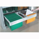 Bisley BRFA Roll-out Filing Frame for Cupboard Grey
