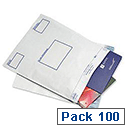 Postsafe Extra-Strong Polythene Envelope C5 Opaque Peel and Seal White Pack 100  P22
