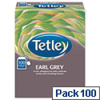 Tetley Tea Bags String and Tag Earl Grey 100 Bags
