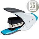 Rexel Easy Touch Stapler Quarter Strip White and Blue