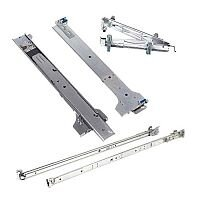 Dell 2/4-Post Static Rack Rails for 1U and 2U systems Rack rail kit