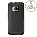 OtterBox Commuter Back Cover for HTC One (M9) Polycarbonate Synthetic Rubber Black