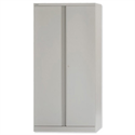 Bisley 2 Door Cupboards Steel High Height 1806 mm Grey A722W00-73
