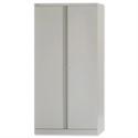 Bisley 2 Door Cupboards Steel High Height 1806 mm Grey A722W00-73
