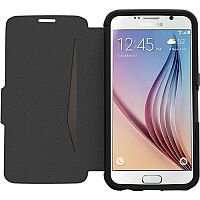 OtterBox Strada Genuine Leather Flip Cover For Samsung Galaxy S6 New Minimalism