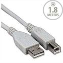 Videk Cable USB 2.0 A-Type / USB 2.0 B-Type Male-Male 1.8m Black