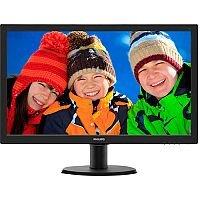 """Philips V-line 243V5LHSB LED Computer Monitor 23.6"""""""