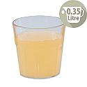 Plastic Tumblers Dishwasher Safe 0.35 Litre Pack 6 Laguna