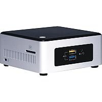 Intel Next Unit of Computing Kit NUC5PGYH Pentium N3700 1.6 GHz 2 GB 32 GB Mini Desktop PC