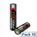 Duracell Procell AA Batteries Pack 10