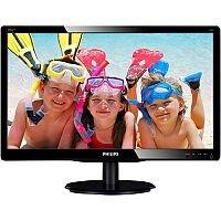 "Philips V-line 200V4LAB2 LED Computer Monitor 20"""