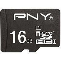 PNY High Performance Flash Memory Card 16 GB microSDHC UHS-I