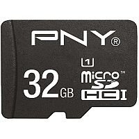 PNY High Performance Flash Memory Card 32 GB microSDHC UHS-I