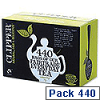 Clipper Fairtrade  Everyday Tea Bags A06816 Pack 440