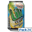 Lilt Zero Diet Pineapple and Grapefruit Soft Drink Can 330ml (Pack 24)