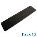 COBA Grit Surface Tile 152 x 610mm Cleat Black Pack 10