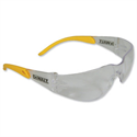 Dewalt Safety Glasses Lightweight Rubber Temples and Anti-UV Polycarbonate Lens