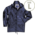 Portwest Pacific Rain Jacket Protection Navy Large