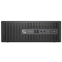 HP ProDesk 400 G3 - SFF - 1 x Core i3 6100 / 3.7 GHz - RAM 4 GB - SSD 128 GB - DVD SuperMulti - HD Graphics 530 - GigE - Win 10 Pro 64-bit / Win 7 Pro 64-bit downgrade - pre-installed: Win 7 Pro 64-bit - Monitor : none