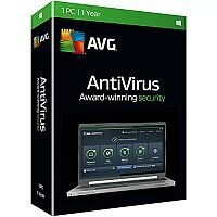 AVG 2016 Anti-Virus Software 1 Year/3 Users Online Activation Code