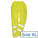 Portwest Hi Vis Trousers Class 3 Protection Extra Large Yellow EN343 Ref S480XLGE