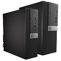 Dell OptiPlex 5040 Small Form Factor Intel Core i3-6100 4GB 1600MHz 500GB DVD RW Win 7 Pro (64-bit)