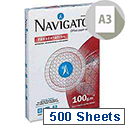 Navigator Presentation Premium A3 Paper 100gsm White 500 Sheets