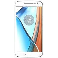 Motorola Moto G4 White 4G LTE 16 Gb GSM Smartphone