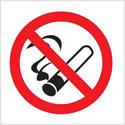 Stewart Superior Sign No Smoking Vehicle 100x100mm Self-adhesive Vinyl Clear Ref SB012SAV