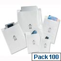 Jiffy No. 00 Postal Bags White Bubble Lined 115 x 195mm JL-00 (Pack of 100)
