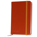 Silvine Executive Soft Feel Pocket Notebook Ruled 160 Pages 143x90mm Tan