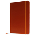 Silvine Executive Soft Feel A5 Notebook Ruled 160 Pages Tan