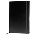 Silvine Executive Soft Feel A5 Notebook Ruled 160 Pages Black