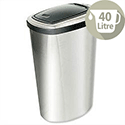 Press Top Bin with Inner Liner 40 L Stainless Steel