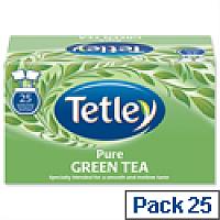 Tetley Tea Bags Pure Green Tea  Pack 25 Bags