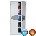 Phoenix Fire Ranger Steel Storage Cupboard Fire and Burglary Resistant 30 minute Fire Protection