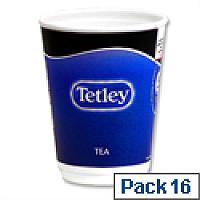 Nescafe & Go Tetley Tea Foil-sealed Cup for Drinks Machine Ref 12154583 [Pack 16]