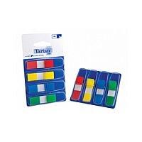 Tartan Index Flag Dispenser 11 x 45mm 35 Sheet 4 Colour 70005019933