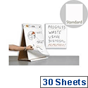 3M Post-it Table Top Meeting Chart 30 Sheets 563R
