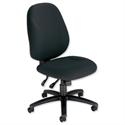 Trexus Intro Maxi Asynchronous High Back Office Chair Black