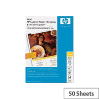 HP Glossy Paper A4 50 Sheets