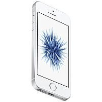 Apple iPhone SE Silver 4G LTE 128 GB CDMA / GSM Smartphone