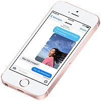 Apple iPhone SE Rose Gold 4G LTE 128 GB CDMA / GSM Smartphone