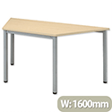 Sonix Table Trapezoidal 25mm Top W1600xD800xH720mm Maple 19
