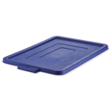 Plastic Lid for Strata Storemaster Crate Jumbo Blue