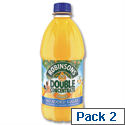 Robinsons Special R Squash No Added Sugar 4 Litres Orange A02017/A02115 Pack 2